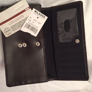 LADIES SOFT Wilson leather wallet, New with tags,